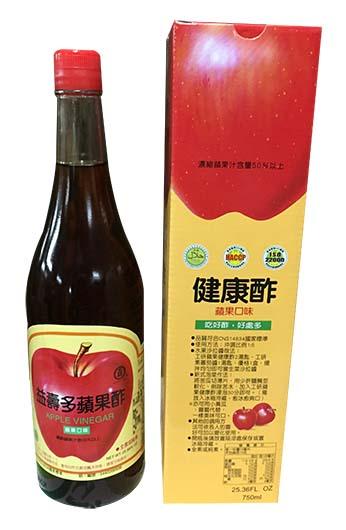 益壽多-蘋果酢>750ml/支 (12472A)