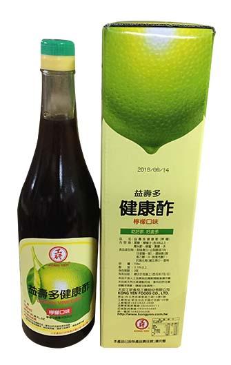 益壽多-檸檬酢>750ml/支 (12616A)