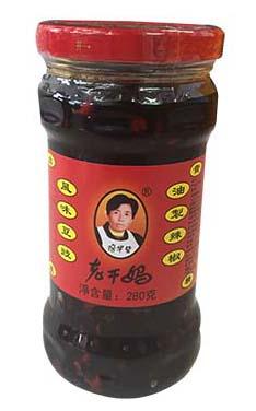 老干媽風味豆豉油制辣椒 (8028A)