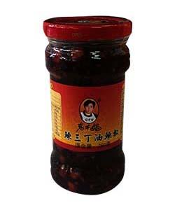 老干媽辣三丁油辣椒 (8033A)