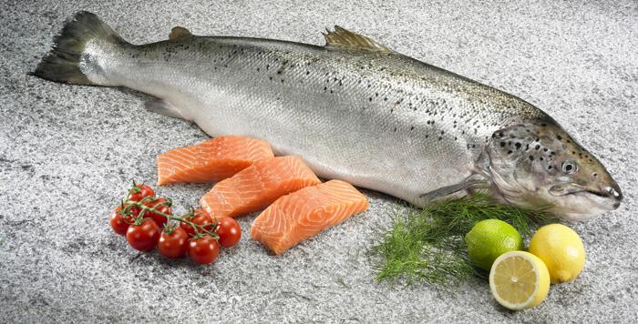 新鮮挪威三文魚 約6-7KG/條 (抄碼) (CS001-0607)
