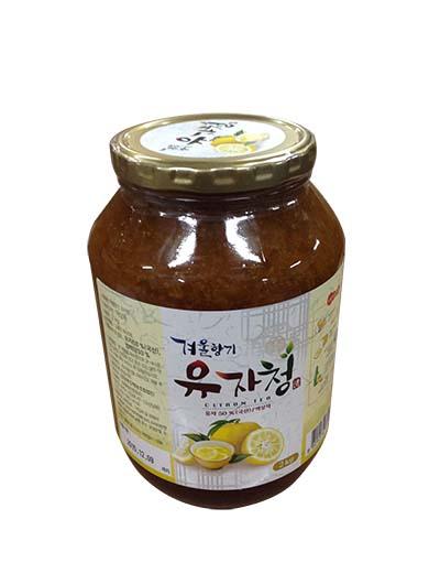 韓國蜂蜜柚子茶>2kg/支 (CTC02A)