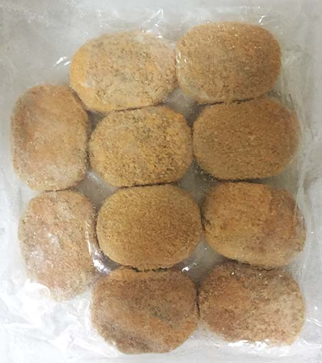 咖喱薯餅60g x 10片/包 (FM44RA)