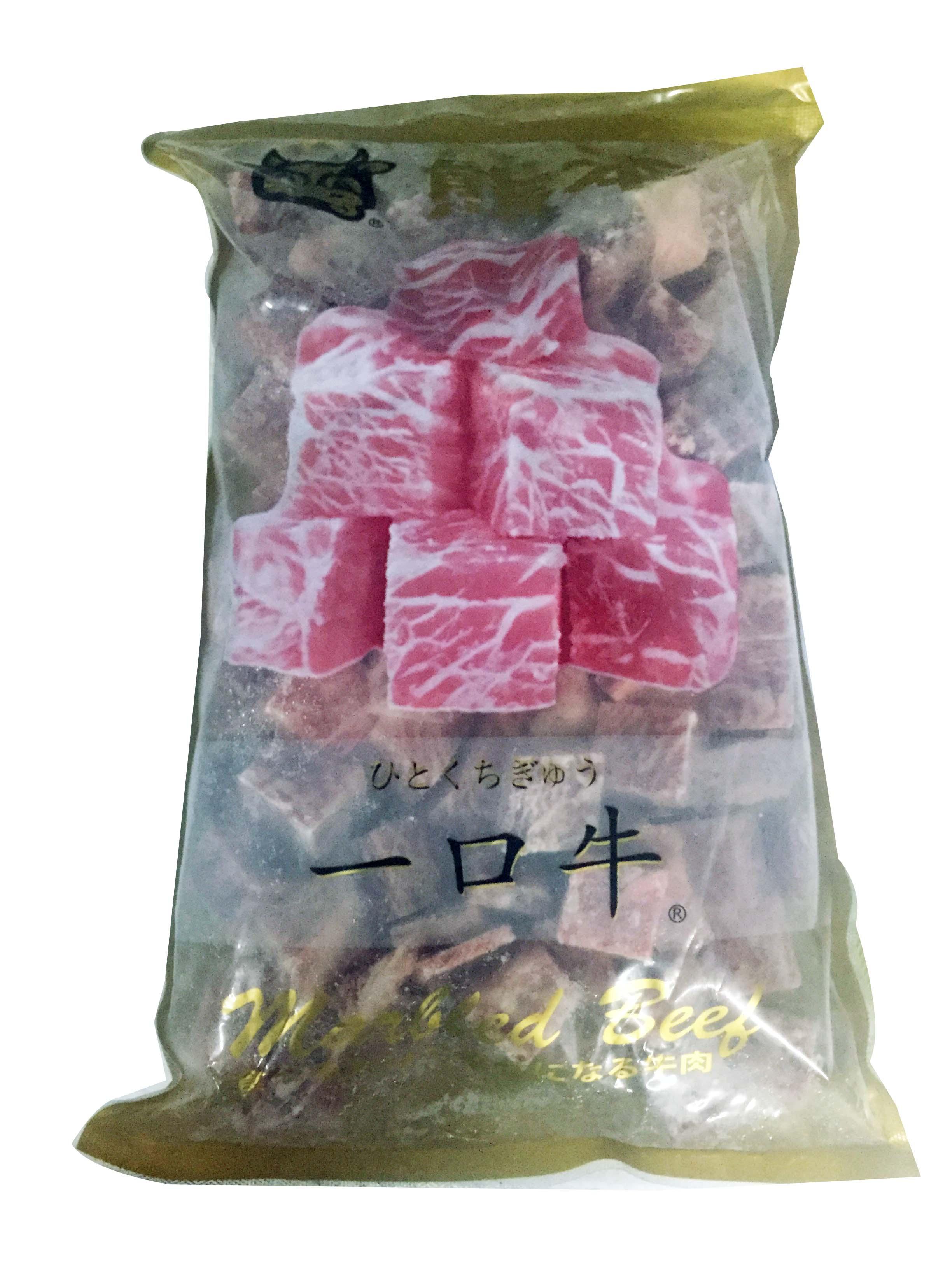 霜降一口牛肉1吋粒/1kg (FM51LA)