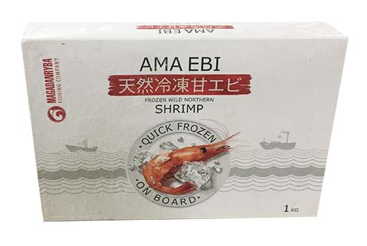 有頭甜蝦 61/70 LA (1Kg) (FS057SA)