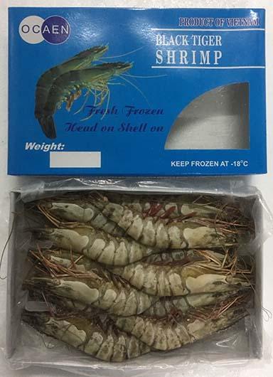 越南有頭虎蝦(22-24頭)  1kg (FS072-22A)
