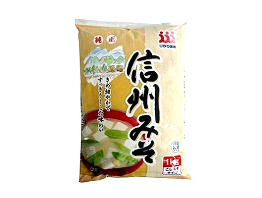 日本Hikari信州白味噌 1Kg (JP161HA)