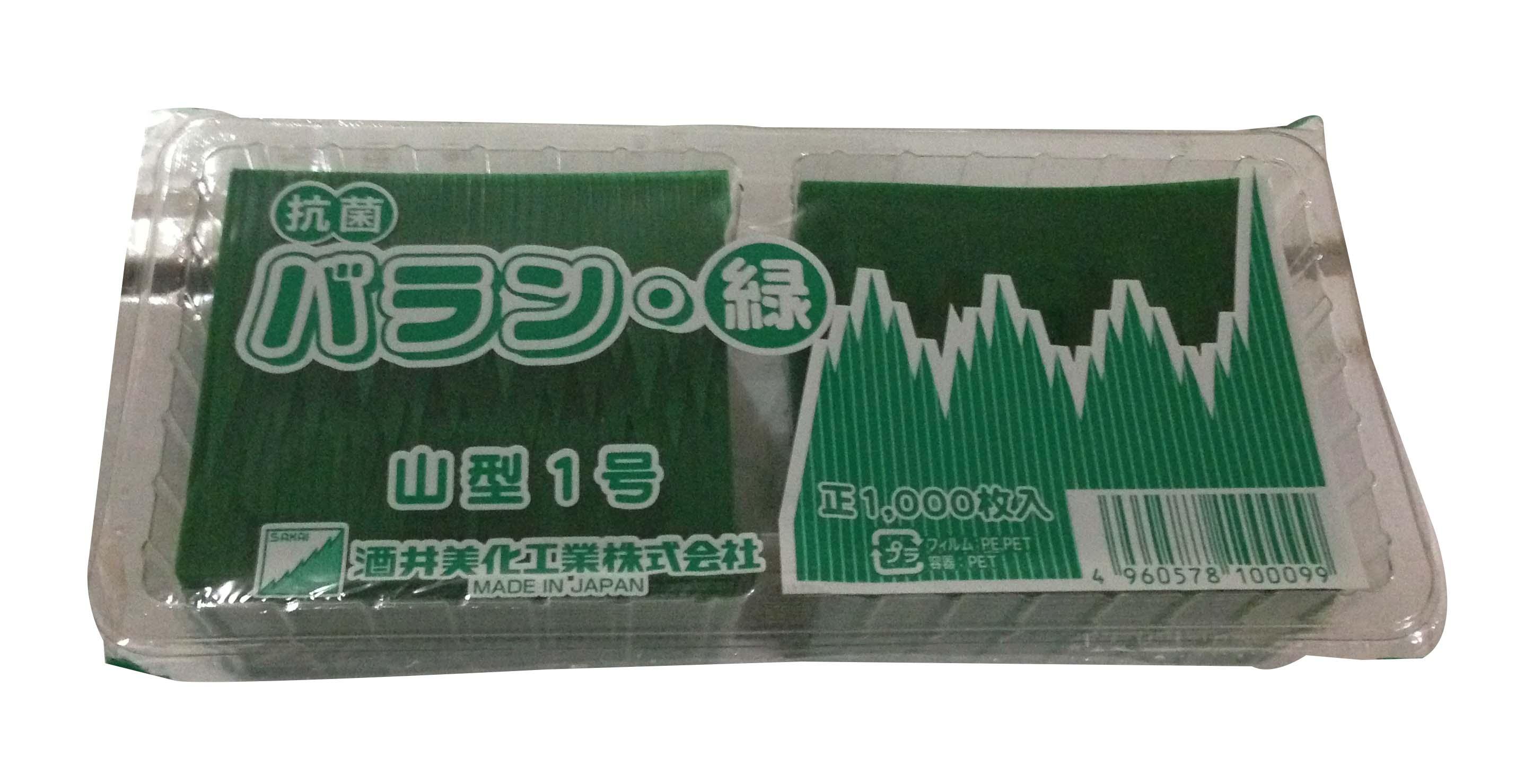 日本山形膠葉 (1000片/盒) (JP37A)