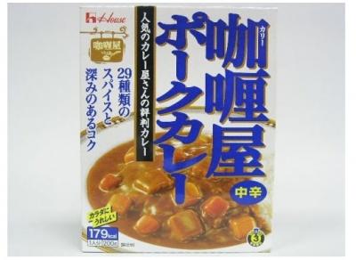 House 豬肉咖喱中辛200g (JPHC02A)