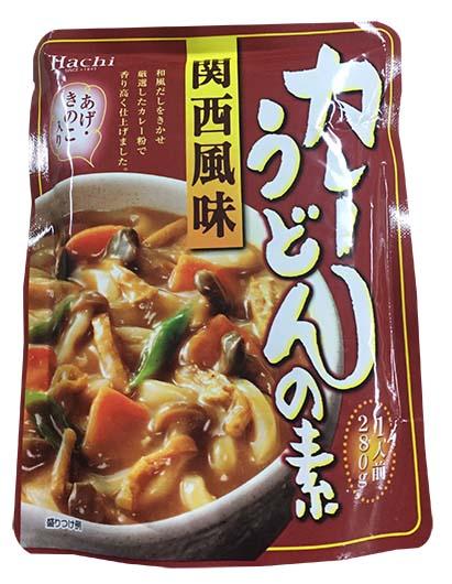 Hachi關西風味咖哩烏冬湯280g (JPHS04A)