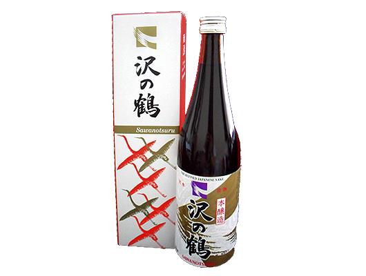 日本澤之鶴上撰清酒連盒 720ml/瓶 (JPS2010A)