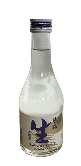 日本沢の鶴生米酒(新裝)300ml/瓶 (JPS2911-RNA)