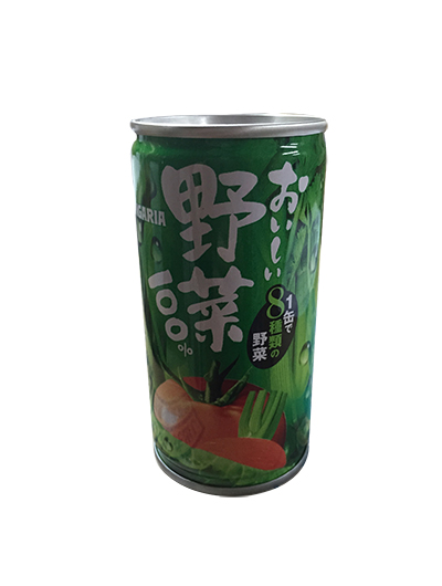 日本Sangaria 100%蔬菜汁190g/瓶 (JPSJ07)