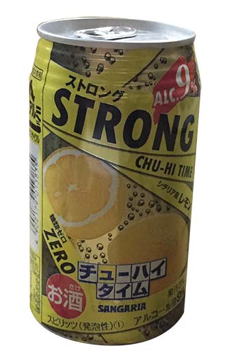SANGARIA(強)檸檬燒酎350ML (JPSS3835A)