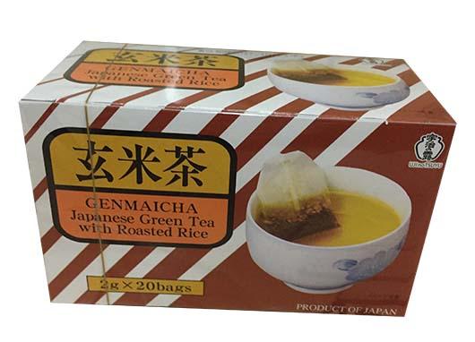 日本宇治之露玄米茶包 (2g x20/盒) (JPT02RA)