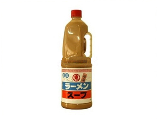 東字九州拉麵湯(白湯)1:10;1.8L/瓶 (JPT09A)