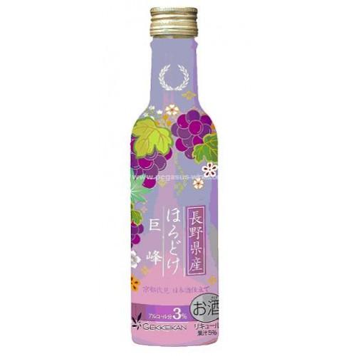 月桂冠巨峰提子汁酒200ml (JPW24769A)