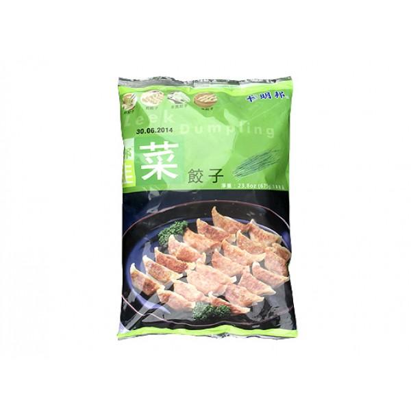 明邦韭菜餃子675g (MBD03A)