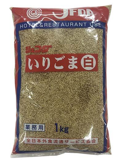 日本白芝麻 1kg (MOM02A)